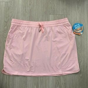 Columbia Womens Relaxed Skirt NWT Sz XL Pink UPF50